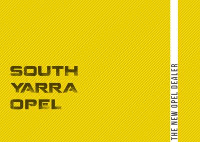 South Yarra Opel – Logo design