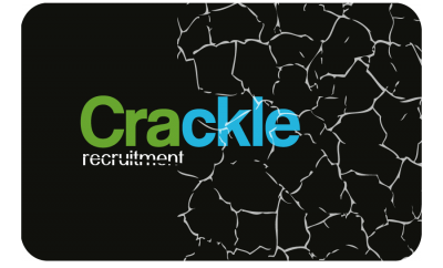 Crackle Recruitment – Brand identity