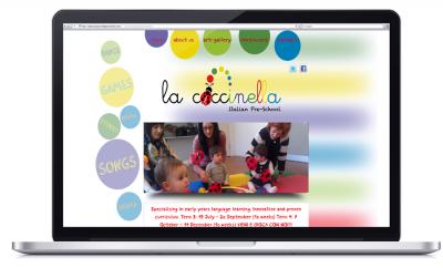 La Coccinella Italian Pre-School – Website