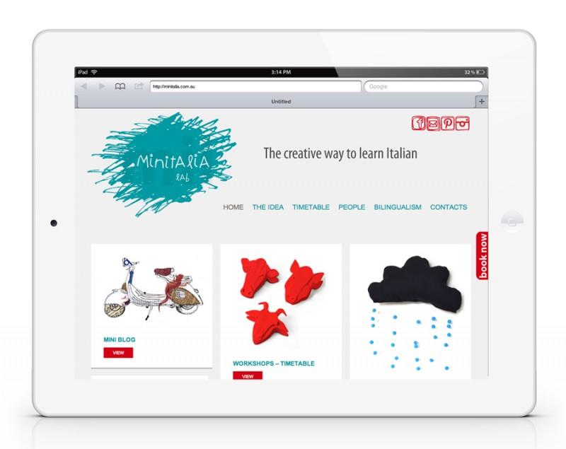 Minitalia Lab – Website
