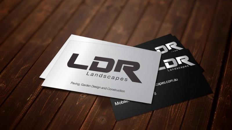 LDR Landscapes – Logo Design